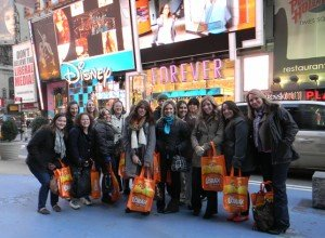 Military spouse trip to NY