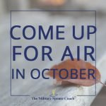 Come Up for Air in October