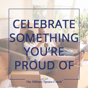 Celebrate Something You're Proud Of