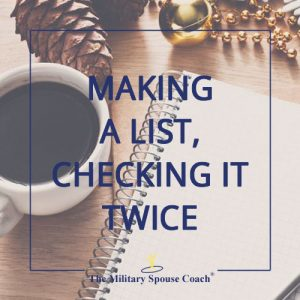 Making A List, Checking It Twice