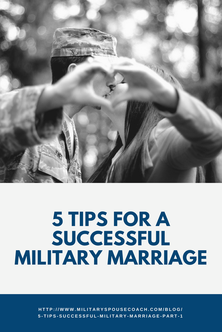 5 Tips for a Successful Military Marriage