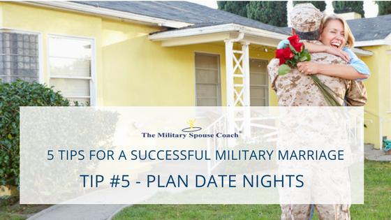 Tip #5 - Plan Date Nights