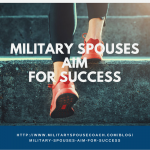 Military Spouses Aim For Success