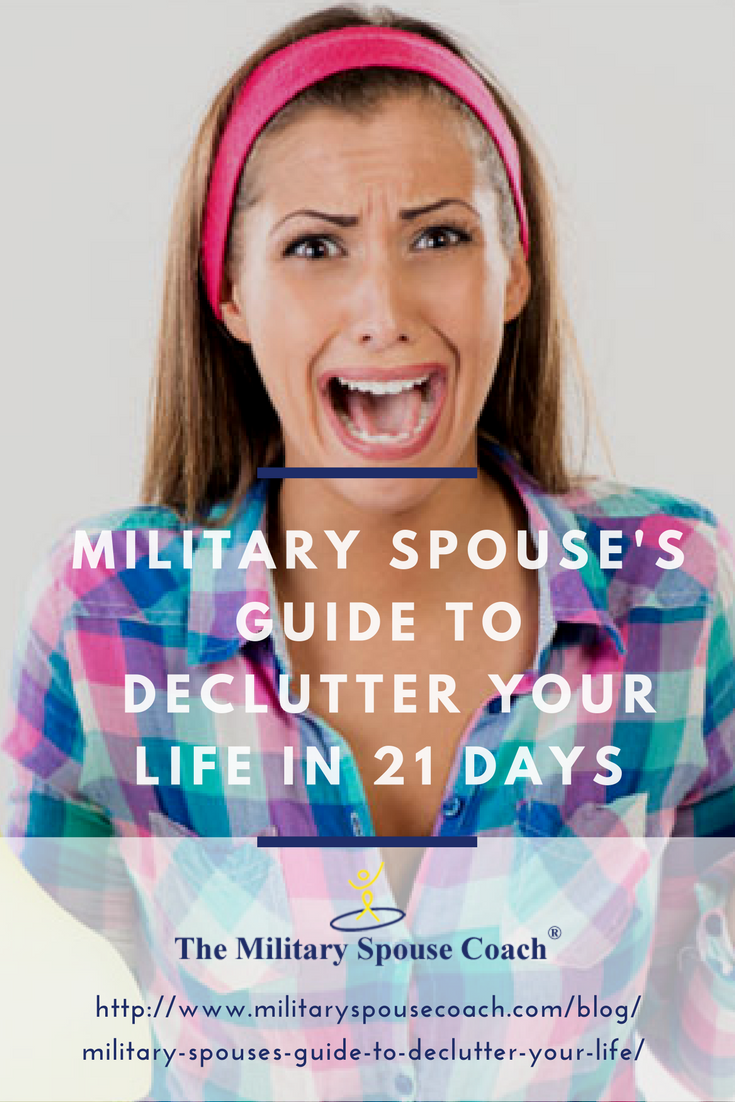 Military Spouse's Guide to Declutter Your Life
