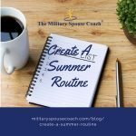 Create A Summer Routine