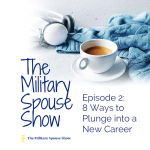The Military Spouse Show - Episode 2: 8 Ways to Plunge Into a New Career
